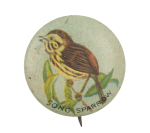 Song Sparrow Art Button Museum