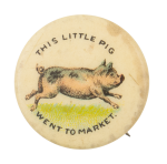 This Little Pig Went Art Button Museum