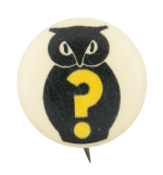 Who Owl Art Button Museum