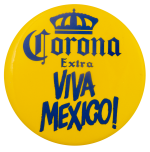 Corona Viva Mexico Beer Busy Beaver Button Museum