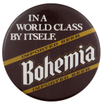 World Class Bohemia Beer Busy Beaver Button Museum
