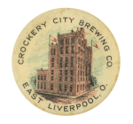 Crockery City Brewing Company Beer Button Museum