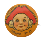 Drink P.B. Beer Button Museum
