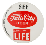 Falls City Beer Beer Button Museum