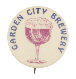 Garden City Brewery Beer Button Museum