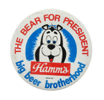 Hamm's Big Beer Brotherhood Beer Button Museum