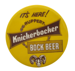 Knickerbocker Bock Beer Beer Button Museum