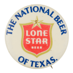 Lone Star Beer of Texas Beer Button Museum