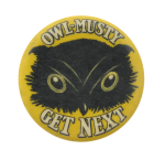Owl Musty Beer Button Museum