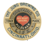 The Jung Brewing Company Beer Button Museum