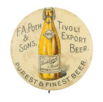Tivoli Export Beer Button Museum