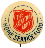 The Salvation Army Home Service Fund Cause Busy Beaver Button Museum
