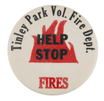 Tinley Park Help Stop Fires Cause Busy Beaver Button Museum