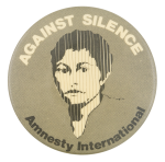Against Silence Cause Button Museum