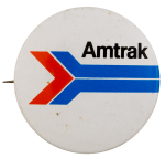 Amtrak Arrow Advertising Busy Beaver Button Museum
