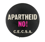 Apartheid No! Cause Button Museum