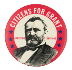 Citizens for Grant Cause Button Museum