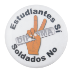 Estudiantes Si Cause Button Museum