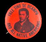 Free Tino de Ocampo Cause Button Museum