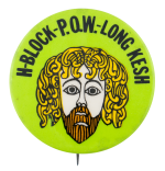 H Block P.O.W. Long Kesh Cause Button Museum