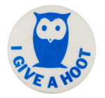 I Give a Hoot Cause Button Museum
