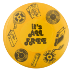 It's All Free Cause Button Museum