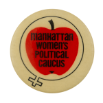 Manhattan Womens Political Caucus Cause Busy Beaver Button Museum