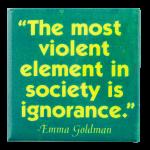 Most Violent Element Cause Button Museum