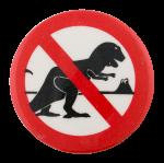 No Dinosaurs Cause Button Museum