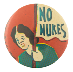 No Nukes Cause Button Museum