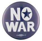 No War Cause Button Museum