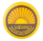 Nuclear Free Midwest Cause Button Museum