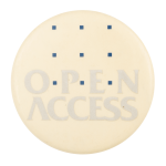 Open Access Cause Button Museum