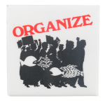 Organize Cause Button Museum