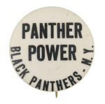 Panther Power  Cause Button Museum