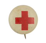 Red Cross Cause Button Museum