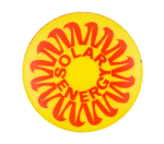 Solar Energy Cause Button Museum