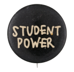 Student Power Cause Button Museum