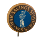 War Savings Service Cause Button Museum