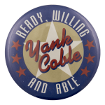 Yank Coble Cause Busy Beaver Button Museum