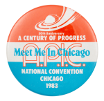 APIC National Convention 1983 Chicago Button Museum