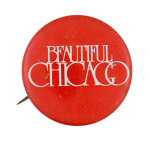 Beautiful Chicago Red Chicago Button Museum