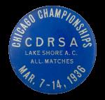 CDRSA Chicago Championships 1936 Chicago Button Museum