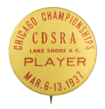 CDSRA Chicago Championships 1937  Chicago Button Museum