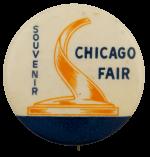 Chicago Fair Souvenir Chicago Busy Beaver Button Museum