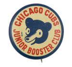 Chicago Cubs Junior Booster Chicago Button Museum