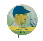 Grimes Chicago Cubs Chicago Button Muesum