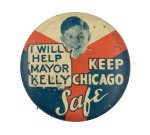 Keep Chicago Safe Chicago Button Museum