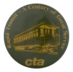 Rapid Transit Century Chicago Button Museum