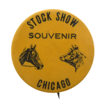 Stock Show Souvenir Chicago Button Museum